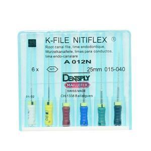 Инструмент ручной Maillefer K-File Nitiflex №35 25мм A012N02503512