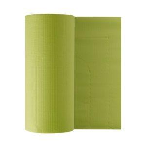 Бумажные фартуки в рулонах для пациентов 80 шт, лайм Euronda