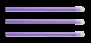 Наконечники для аспирации слюны и фракции Monoart, 100 шт, лиловые, Euronda