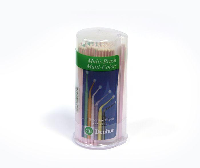 Аппликаторы Small, розовые 100 шт, Multi-Brush