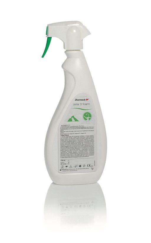 Дезинфицирующее средство для поверхностей, 750 мл,  ZETA 3 FOAM Zhermack