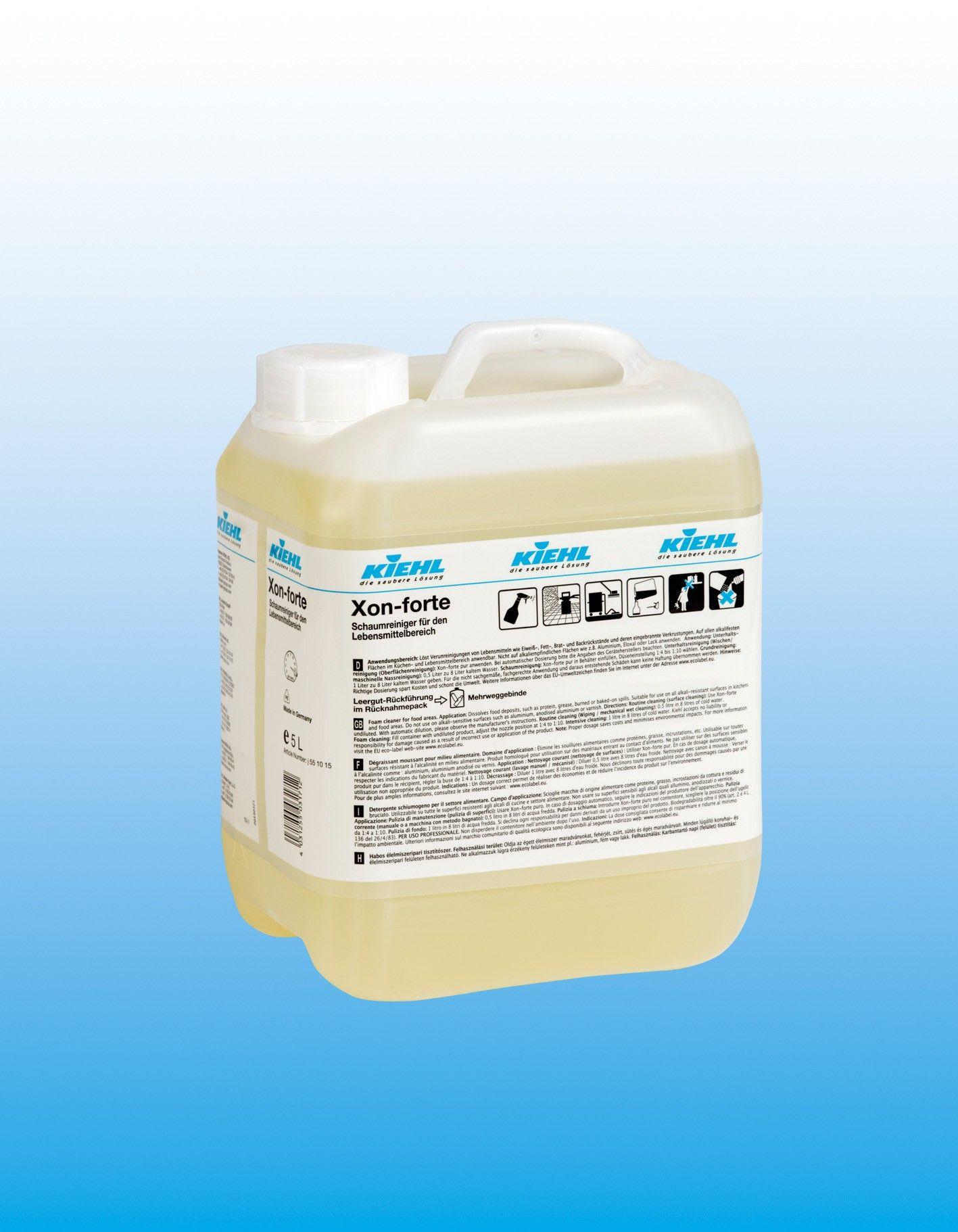 Пенное чистящее средство для печей и грилей (удаление нагара), канистра 5 л, XON-forte, Johannes Kiehl KG