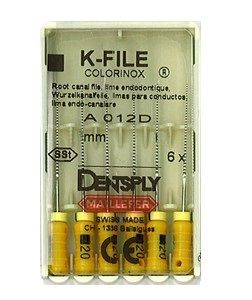 Инструмент ручной Maillefer K-File Colorinox №60 25мм