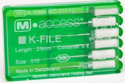 Инструмент ручной Maillefer K-File M-Access №40 21мм A12MA02104012