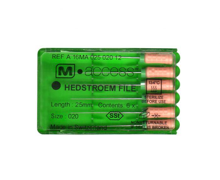 Инструмент ручной Maillefer Hedstroem M-Access №08 31мм A16MA03100812