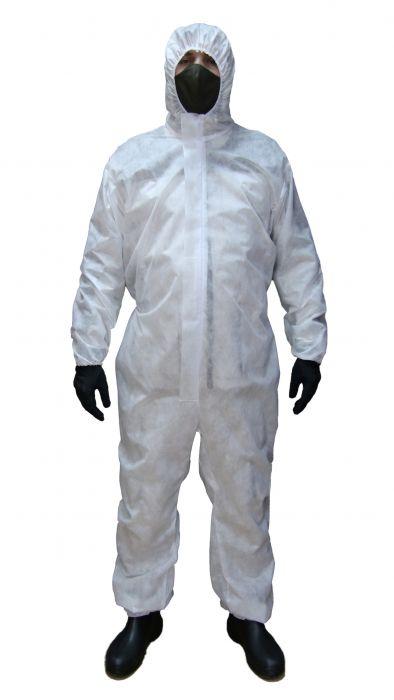 Комбинезон пылезащитный одноразовый 30гр. 1шт  (XXL - XXXL)