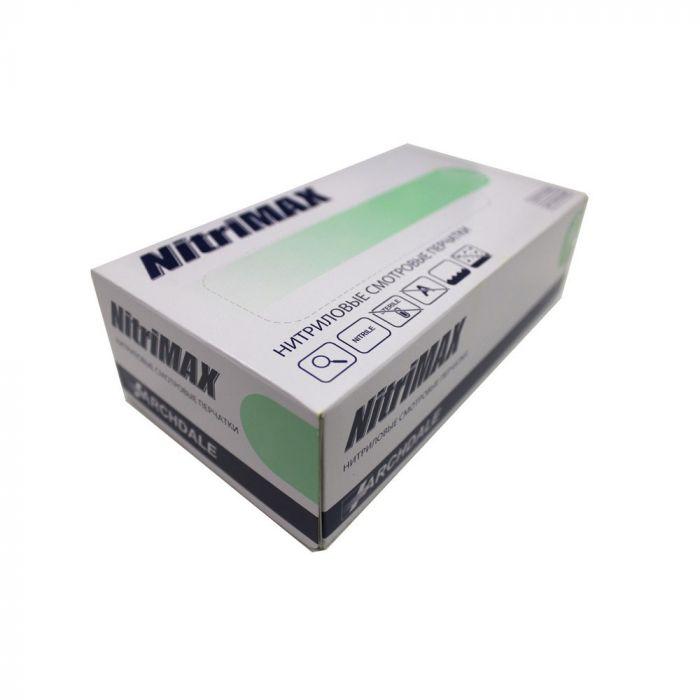 Перчатки нитриловые зеленые размер L, 100 шт, ARCHDALE