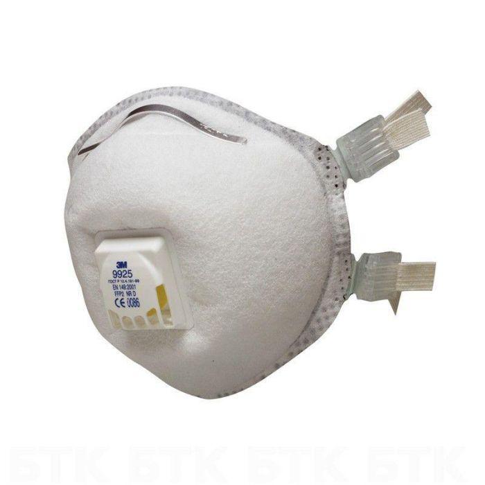Защитная маска 3M 9925 класс защиты 2 FFP2, 1 шт