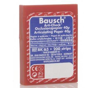 Бумага артикуляционная Bausch BK 63