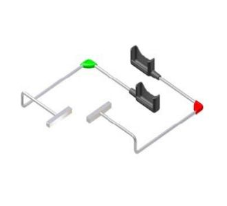 Позиционеры изогнутые (красн.+зелен.) для RVG 5100/6100 Carestream