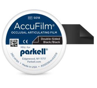 Бумага артикуляционная Parkell AccuFilm Black-Black S018 280шт