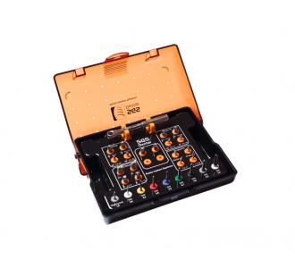 Набор фрез SGS SKD Stopper drills kit