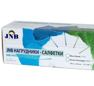 Нагрудные салфетки JNB 53х80см, полиэтиленовые, 200шт