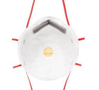 Защитная маска 3M 8132 класс защиты 3 FFP3 NR D, 10 шт. в уп.