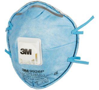 Защитная маска 3М 9926P  класс защиты 2 FFP2 NR D, 10 шт. в уп.
