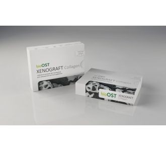 Гранулы bioOST XENOGRAFT Collagen  с коллагеном 1.0 - 2.0 мм, XCol-2-1