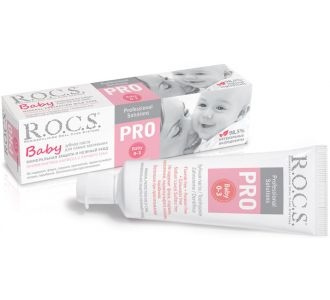 Зубная паста ROCS PRO Baby Минеральная защита и нежный уход 45г