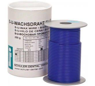Восковая проволока синяя твердая диаметр 2,5мм, 250г.,