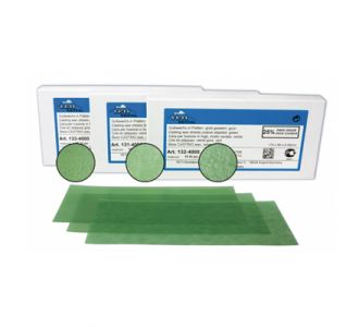Воск литейный Yeti в пластинах зеленого цвета