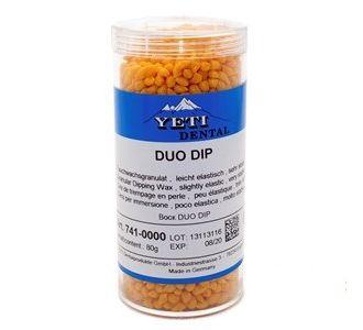 Воск Yeti DUO DIP погружной в гранулах , Цвет оранжевый. Упаковка 80 г.,