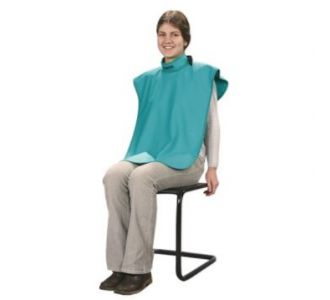 Защитный свинцовый фартук Swidella для пациента, лазурный, 0,5мм