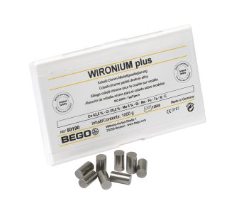 Сплав Bego Wironium Plus для бюгелей , CoCr, 1 кг